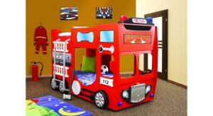 Etageseng / køjeseng brandbil